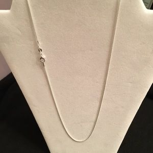 """Jewelry - .925 Sterling Silver Necklace 22"""", Brand New"""